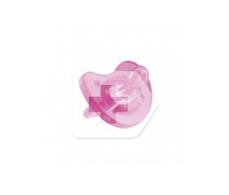 Chicco® Physio Soft chupete anatómico tratamiento 4M+ rosa