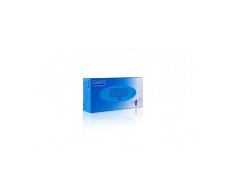 Alvita guantes de exámen nitrilo sin polvo T-M 100uds