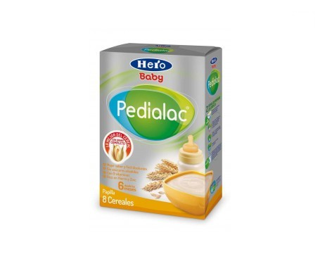 Hero Baby Pedialac papilla 8 cereales 500g