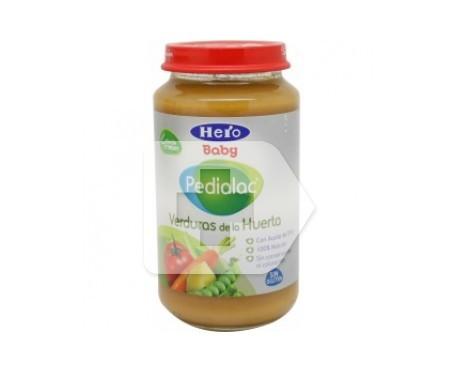 Hero baby pedialac tarrito de verduras de la huerta 250g