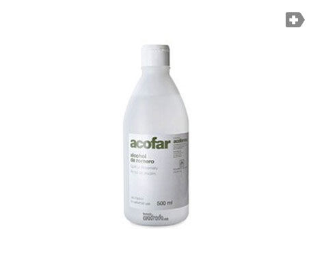 Acofar alcohol de romero 500ml