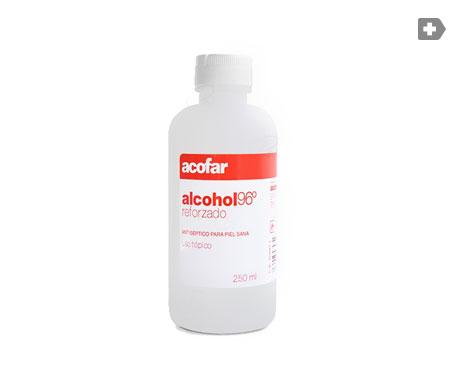Acofar alcohol etílico 96º reforzado 250ml