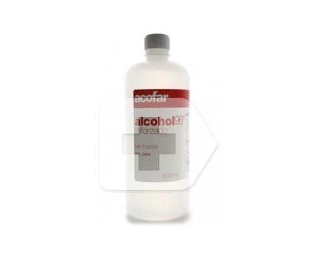 Acofar alcohol etílico 96º reforzado 500ml
