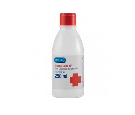 Alcool etolico di alvita 96º 250ml