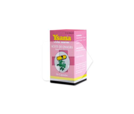 Ysana aceite de onagra 500mg 50cáps