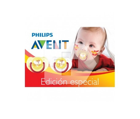Avent chupete I love Spain 1ud
