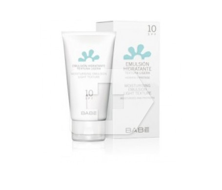 Moisturising emulsion bib SPF10+ text 50ml