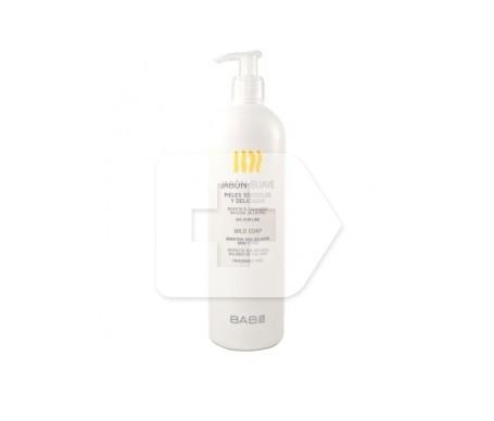 BABÉ jabón suave piel delicada y sensible 500ml
