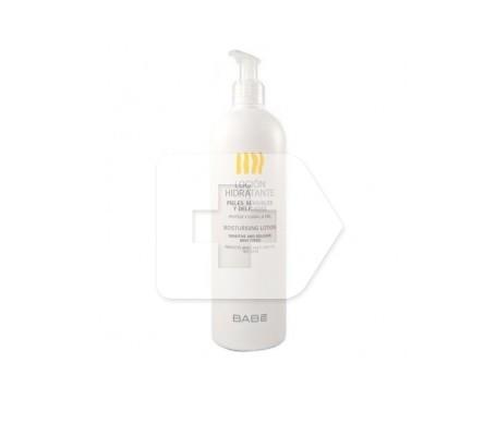 Babé loción hidratante para piel seca y sensible 500ml