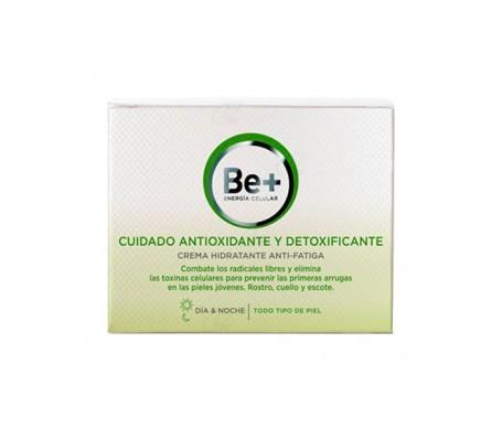 Be+ cuidado antioxidante y detoxificante crema hidratante 50ml