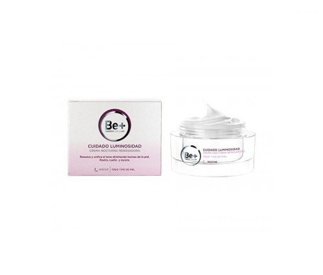 Be + Lightening Care Notte Crema Renova 50ml