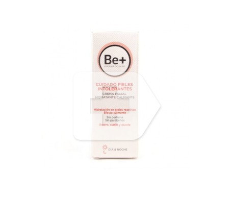 Be+ soothing moisturising facial cream for intolerant skin 50ml