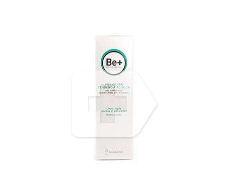 Be+ gel limpiador purificante matificante piel grasa 200ml