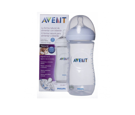 Avent Natural biberón transparente 330ml