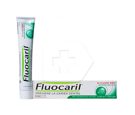 Fluocaril® Bi-fluoré 250 gel menta 75ml