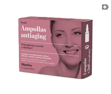 Diactive ampollas antiaging faciales 5uds
