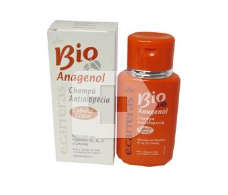 E Carreras Bioanagenol Shampoo antialopecia per capelli grassi 150ml