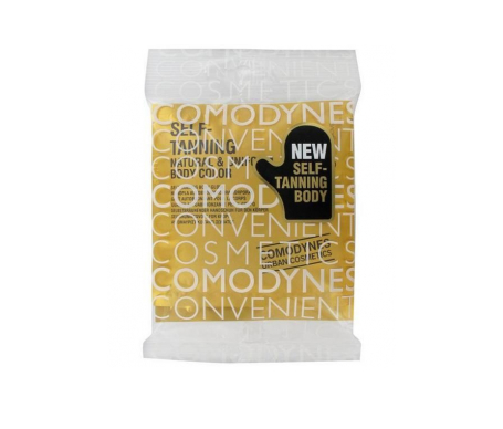 Comodynes Self-Tanning Natural & Uniform Body Color 3uds