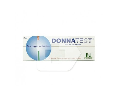 Donnatest test de embarazo 1ud