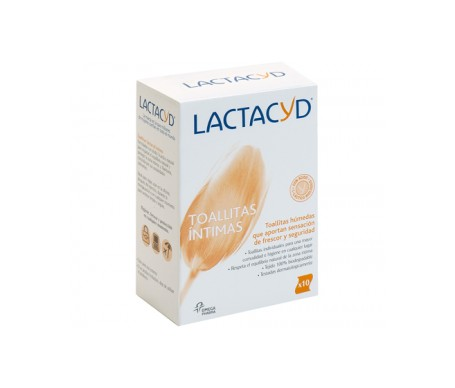 Lactacyd toallitas 10uds
