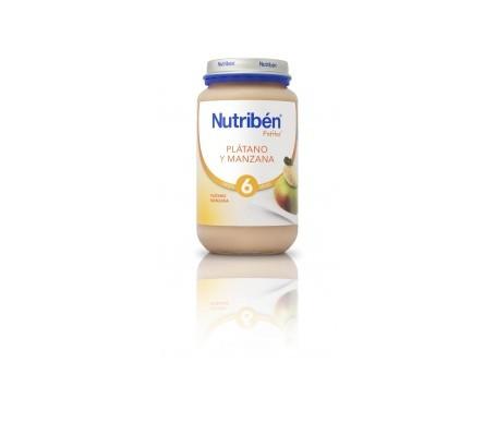 Nutribén® potito® plátano y manzana 250g