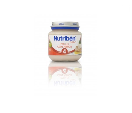 Nutribén® potito® inicio pollo arroz 130g