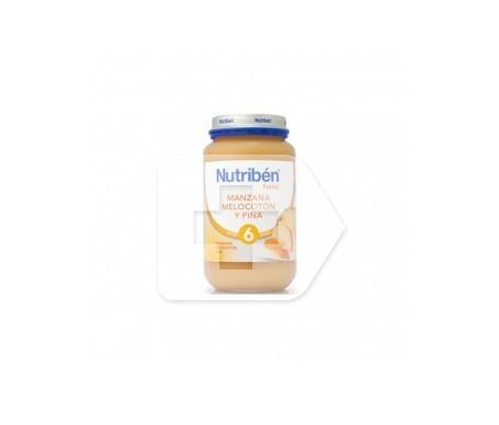 Nutribén®  potito® manzana, melocotón y piña 250g