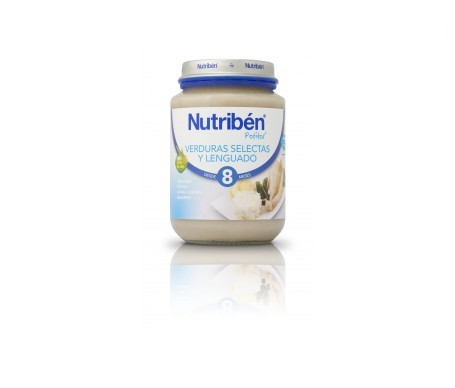 Nutribén® potito® Junior verdura selecta y lenguado 200g