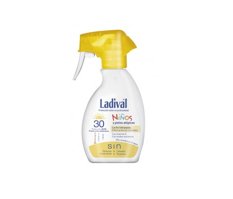 Ladival® Niños fotoprotector spray SPF30+ 200ml