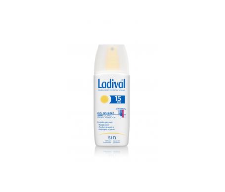 Ladival® piel sensible o alérgica SPF15+ spray 150ml