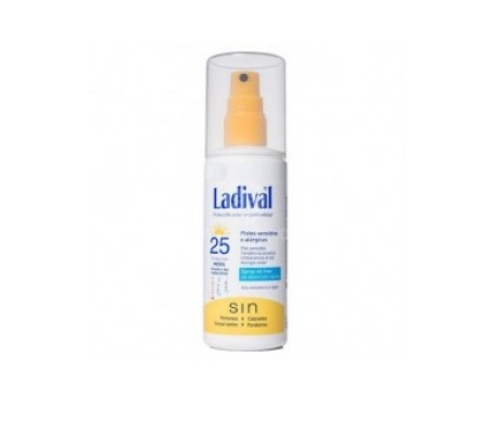 Ladival® piel sensible o alérgica SPF25+ 150ml