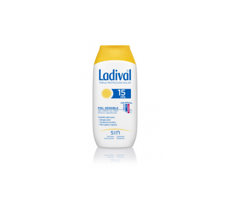 Ladival® piel sensible o alérgica SPF15+ 200ml