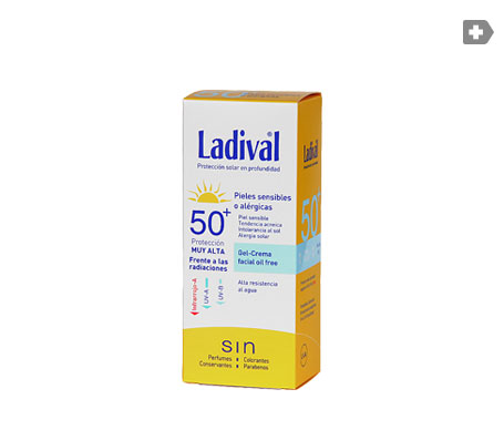 Ladival® piel sensible o alérgica SPF50+ gel - crema 200ml