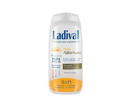 Ladival® pieles mediterráneas SPF15+ emulsión 200ml