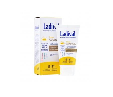 Ladival® pieles mediterráneas SPF20+ emulsión facial 50ml