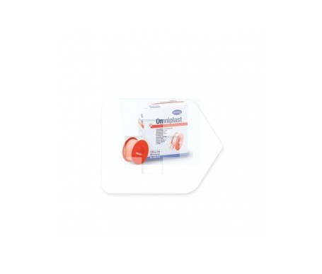 Omniplast® esparadrapo tela hipoalérgico blanco 5MX1,25CM 1ud