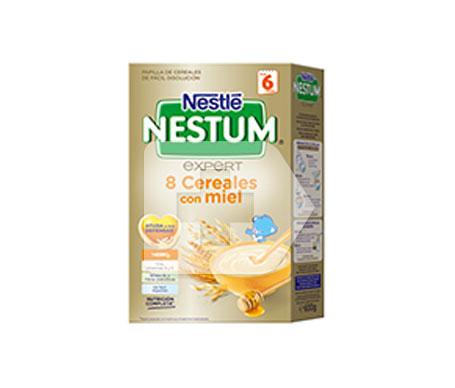 Nestlé nestum 8 cereales con miel 600g