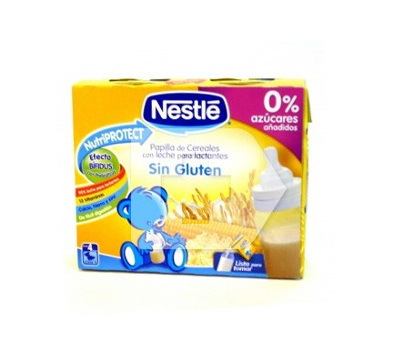 Nestlé papilla galleta 250ml+250ml
