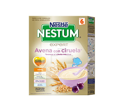 Nestlé Nestum avena con ciruelas 250g