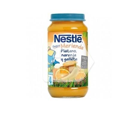 NaturNes tarrito de plátano, naranja y galleta 250g