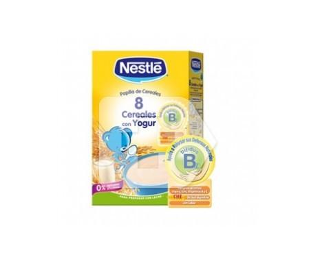 Nestlé 8 cereales con yogur 600g