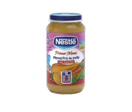 Nestlé Primer Menú menestra de pollo con trocitos 250g