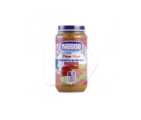 Nestlé Menestra de ternera y verduras 250g