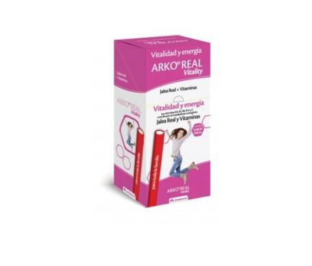Arkoreal Vitality jalea real + vitaminas 1 barrita