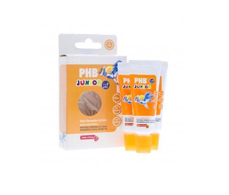 PHB Junior 6-9 años recambio pastas dentífricas 3udsx15ml