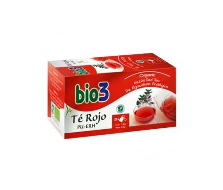 Bio3 té rojo Pu-erh ecológico 25uds