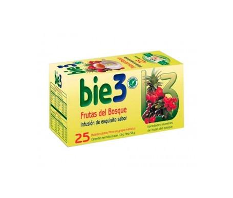 Bie3 té frutas del bosque 25 sobres