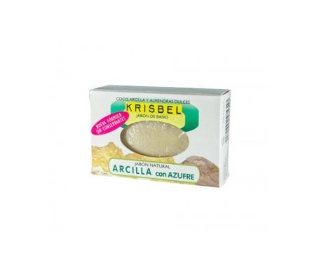 Krisbel jabón de arcilla y azufre 125g