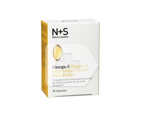 N+S Omega 3 30cáps