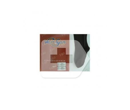 Varisan media larga A-F blonda compresión normal marrón talla 5